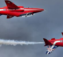 The Red Arrows Mirror Pass - Dunsfold 2014 Sticker