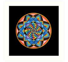Mayan Stargate Art Print