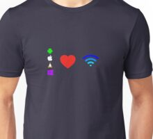 OS love Wifi full color Unisex T-Shirt