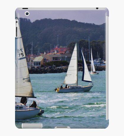 Sail boats iPad Case/Skin