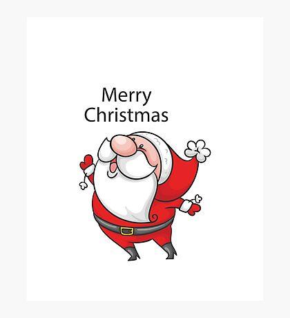 Christmas Oldman Photographic Print