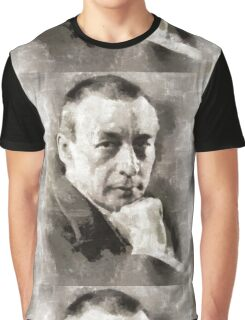 Rachmaninoff, Composer Graphic T-Shirt