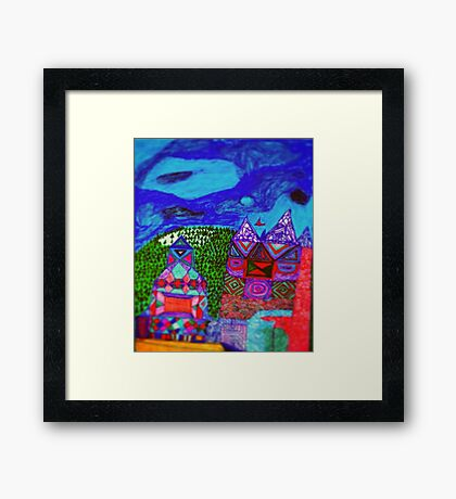 Knock knock is Anybody Home? Framed Print