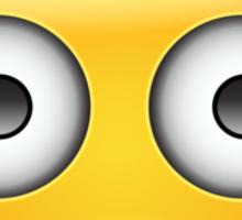 Flushed Face Emoji Sticker