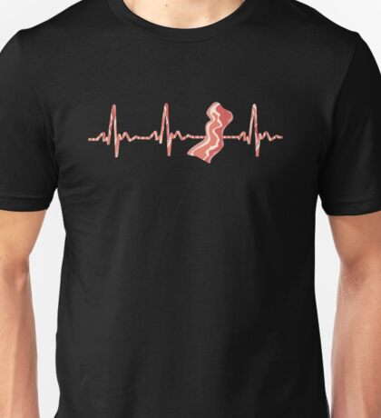 My Heart Beats For Bacon Unisex T-Shirt