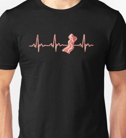 My Heart Beats For Bacon Unisex T-Shirt