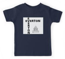 Everton Logo & Tower Kids Tee
