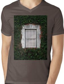 The Ivy Window Mens V-Neck T-Shirt
