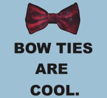 bow ties are cool by wowtennant