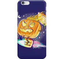 Great Pumpkin Rider iPhone Case/Skin