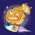 Great Pumpkin Rider by Nate Bear
