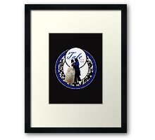 Tale as Old as Time. Framed Print