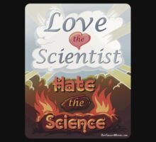 """Love the Scientist, Hate the Science   from the short film """"Out Smart"""" Kids Clothes"""