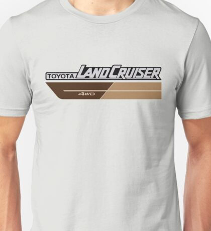 Land Cruiser body art series, brown two tone Unisex T-Shirt