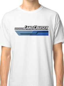 Land Cruiser body art series, blue two tone Classic T-Shirt