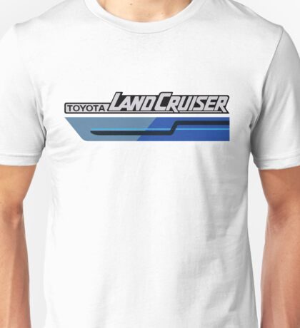 Land Cruiser body art series, blue two tone Unisex T-Shirt
