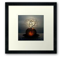 Nothing but life... Framed Print