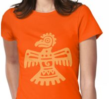 Aztec Eagle Womens Fitted T-Shirt