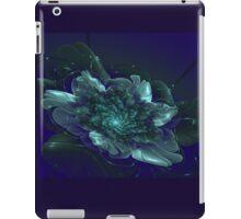 Fantasy shining flower on a dark background iPad Case/Skin
