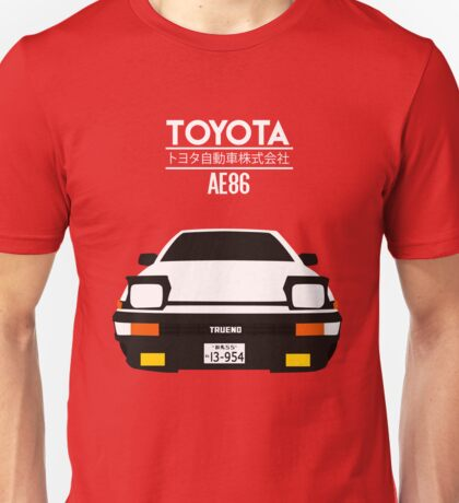 AE86 - Toyota Corolla Unisex T-Shirt