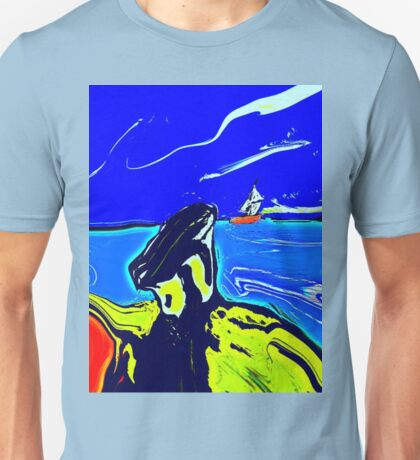 Left Behind In colour  Unisex T-Shirt