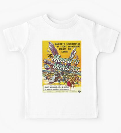 Vintage poster - The Monolith Monsters Kids Tee