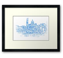 Rome - The Imperial Forums Framed Print