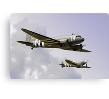 D Day Escort - Dunsfold 2014 Canvas Print