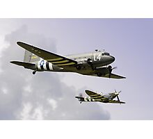 D Day Escort - Dunsfold 2014 Photographic Print
