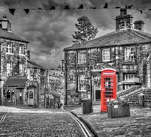 Haworth - Red Telephone Box by © Steve H Clark Photography