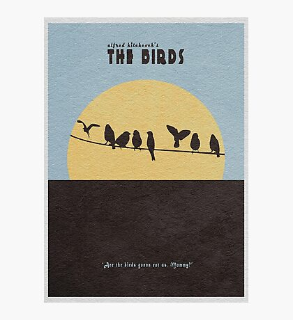 The Birds Photographic Print