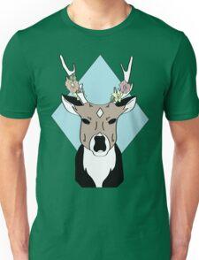 Hibiscus Deer Unisex T-Shirt