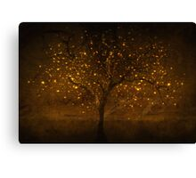 Golden times Canvas Print