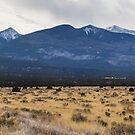 The Arizona desert mountains by Josef Pittner