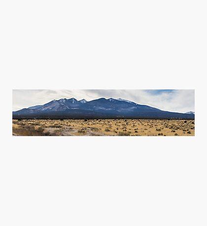 The Arizona desert mountains Photographic Print