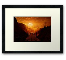 Maybe it`s still not too late Framed Print