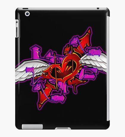 heart graffiti iPad Case/Skin
