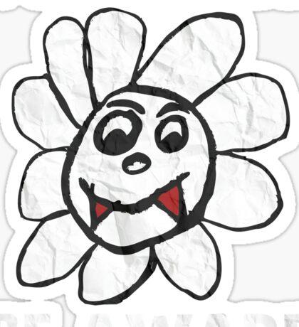 Vampire Flower i Can Eat You Be Aware T-Shirt Sticker