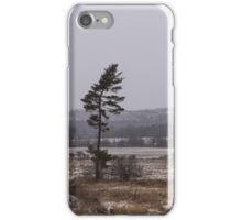 Canadian North - Lone Pine, Fields, Hills and Fresh Snow iPhone Case/Skin