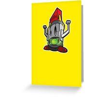 lucha robot Greeting Card