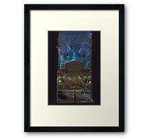 Dawn of Adventure : Mako Leak (32 left) Framed Print