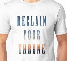 Reclaim Your Throne - Daybreak/white Unisex T-Shirt