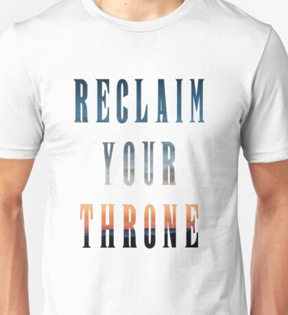 Reclaim Your Throne - Daybreak/white Unisex T-Shirt