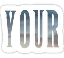 Reclaim Your Throne - Daybreak/white Sticker