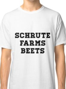 Dwight Schrute - The Office - Schrute Farms Beets Classic T-Shirt