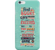 Read Books iPhone Case/Skin
