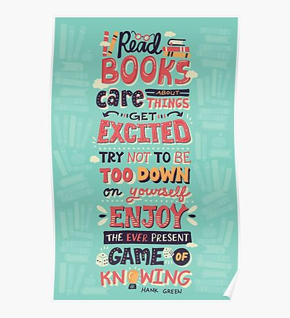 Read Books Poster