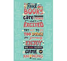 Read Books Photographic Print