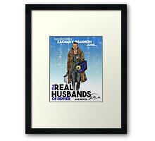 Real Husbands of Denver- Zachary! Framed Print
