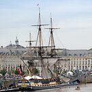 French Fregate Hermione replica by 29Breizh33